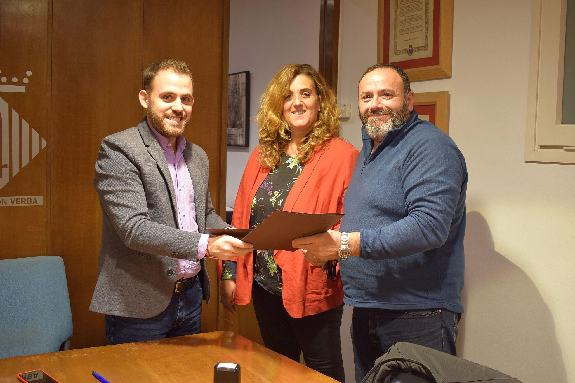 Intercanvi dels documents signats