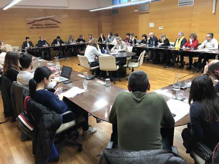 Foto del plenari