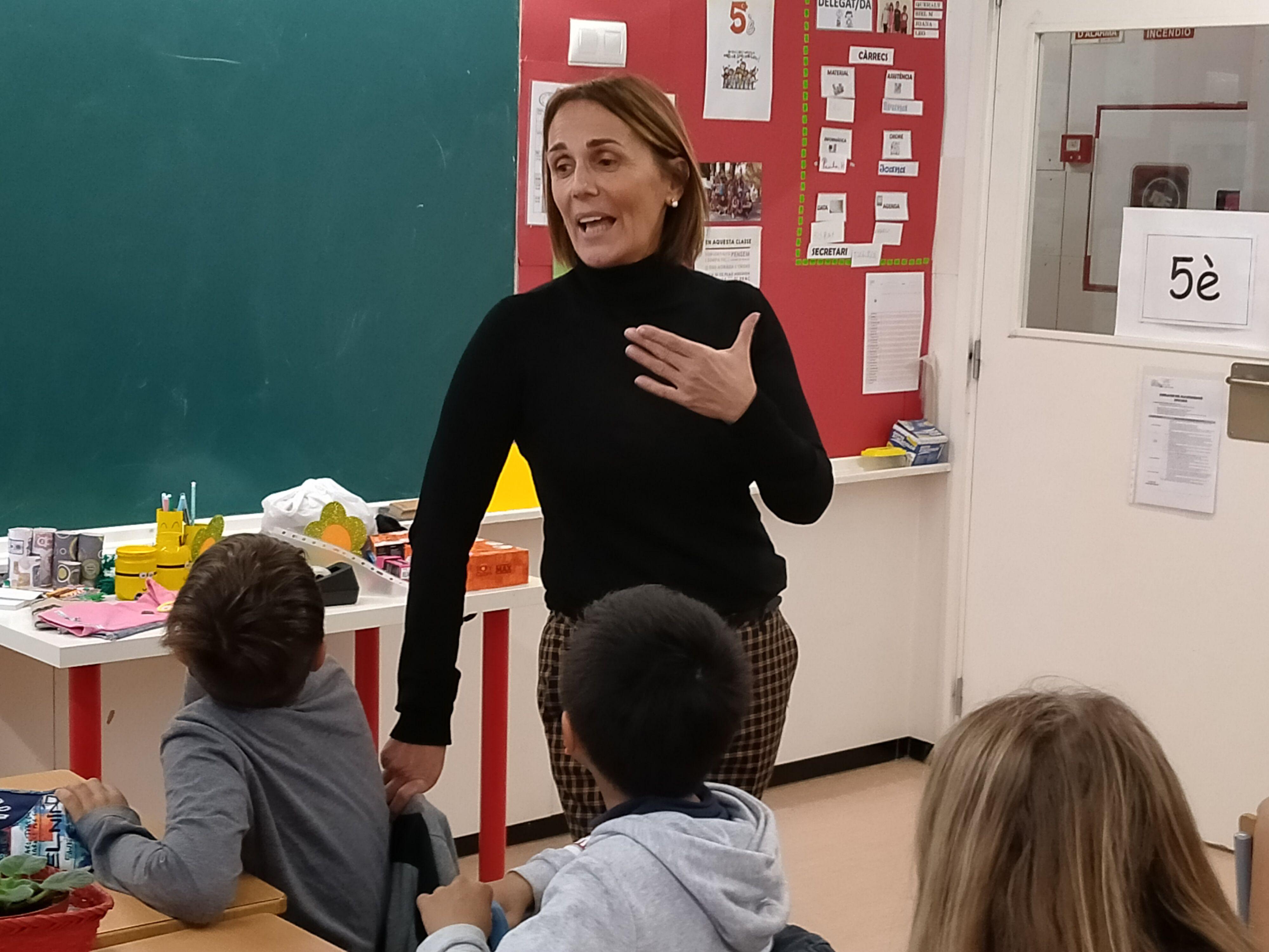 Presentació del curs a l'alumnat de l'Escola Collserola