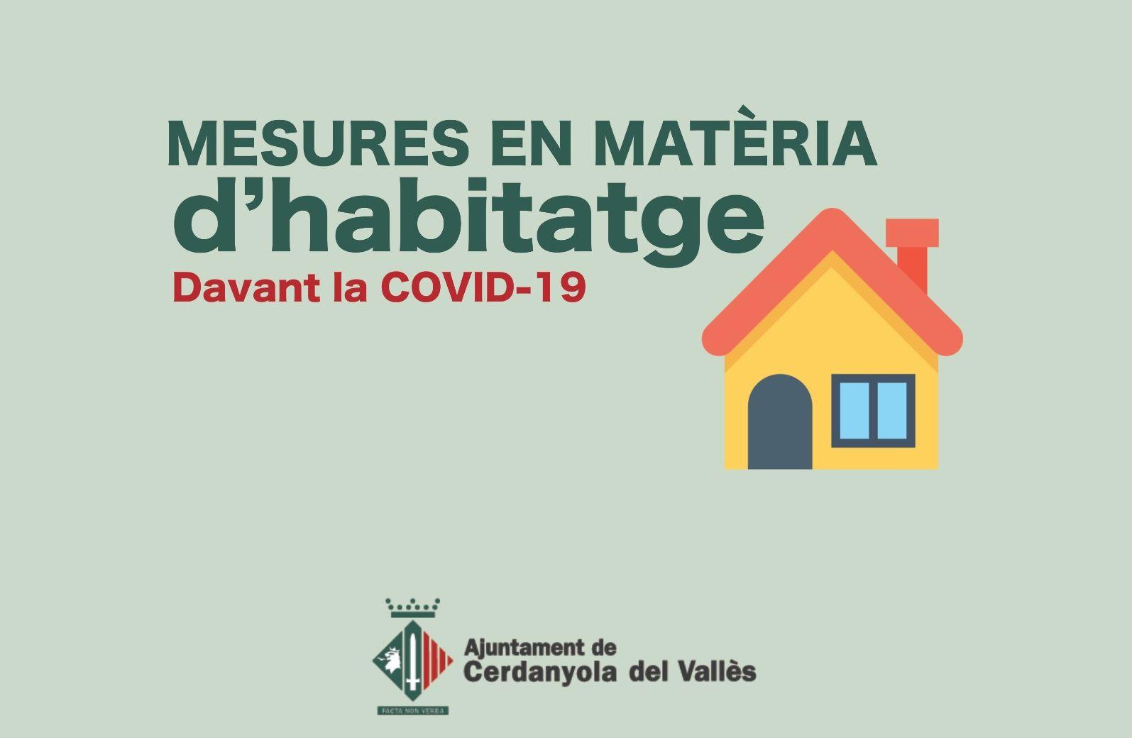 Imatge Mesures Habitatge Covid-19