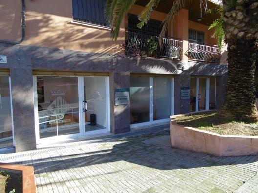 Façana de l'Oficina Municipal d'Habitatge de Cerdanyola