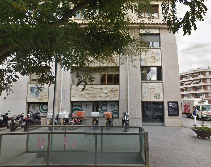 Façana de l'Oficina d'Atenció Ciutadana de Cerdanyola