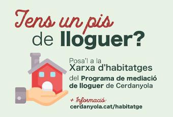 Imatge del programa de promoció de lloguer social