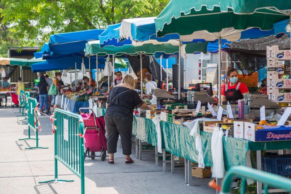 Els mercats ambulants setmanals tornen aquest divendres