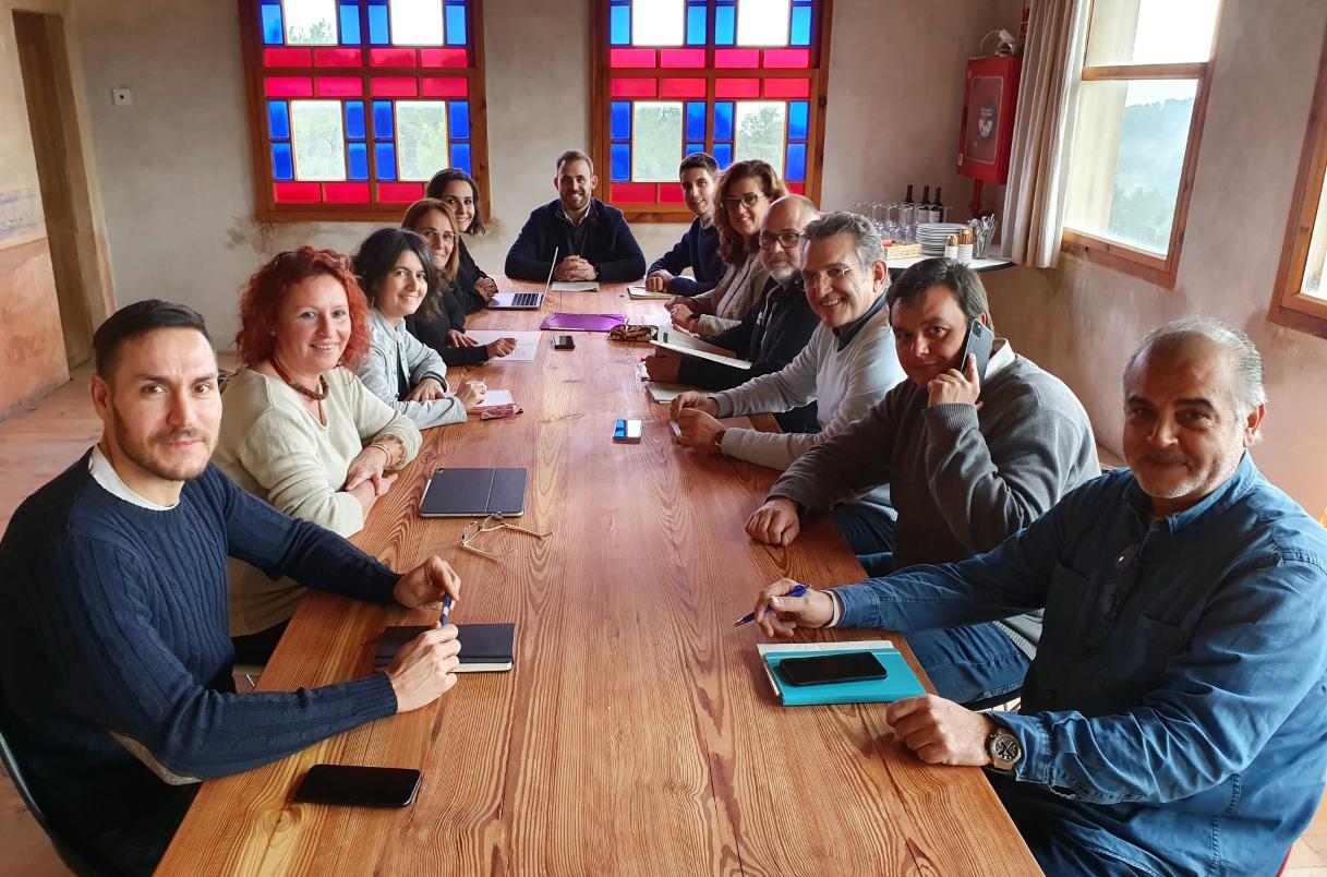 Reunió de l'equip de govern