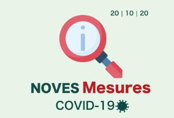 Actualizació de les mesures per prevenir la COVID19
