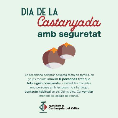 cartell Castanyada segura