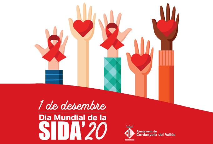 Imatge Dia Mundial Sida Cerdanyola 2020