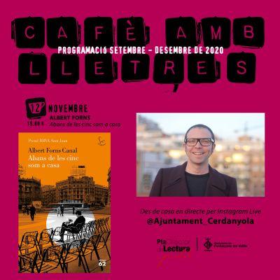 Cafè amb lletres amb Albert Forns