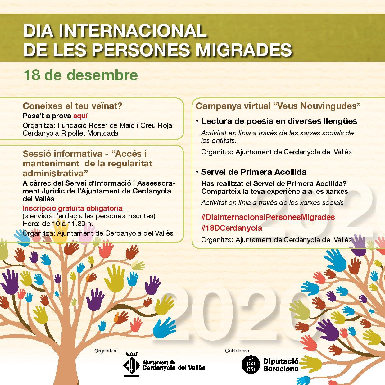 Imatge Dia Internacional Persona Migrades