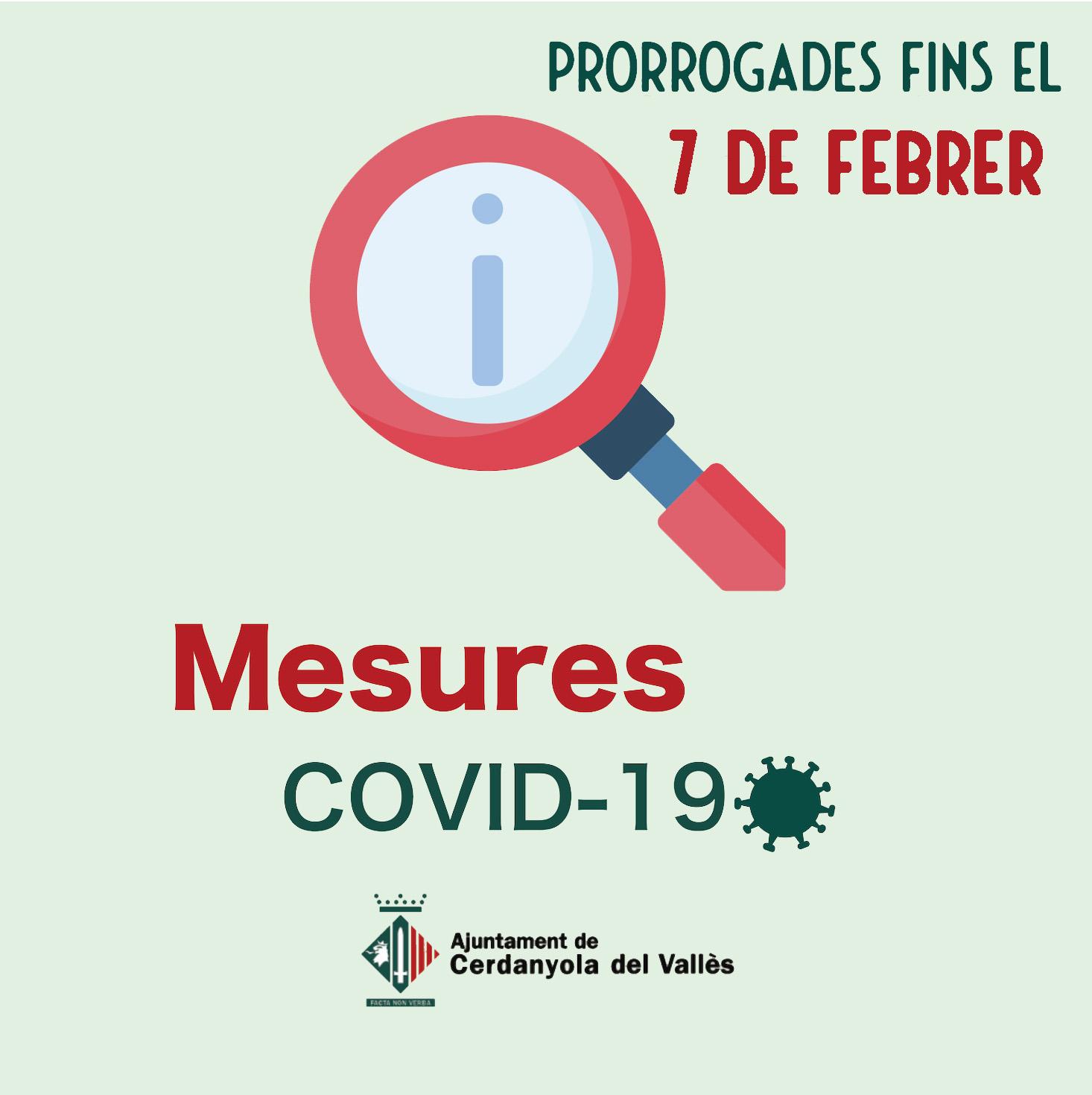 imatge pròrroga mesures COVID