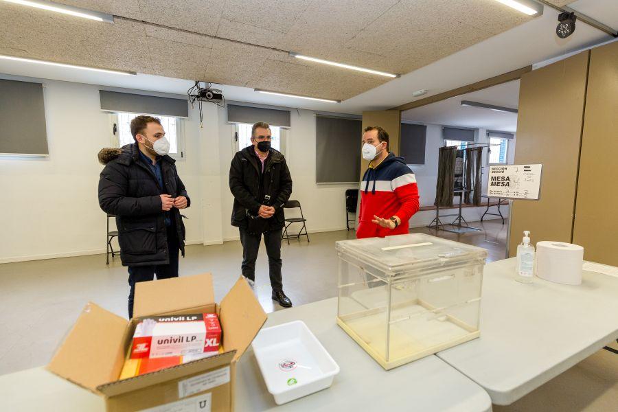 foto col·legi electoral preparat