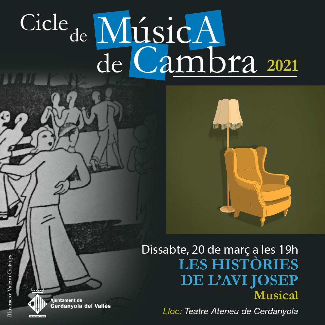 Imatge del concert Les històries de l'avi Josep