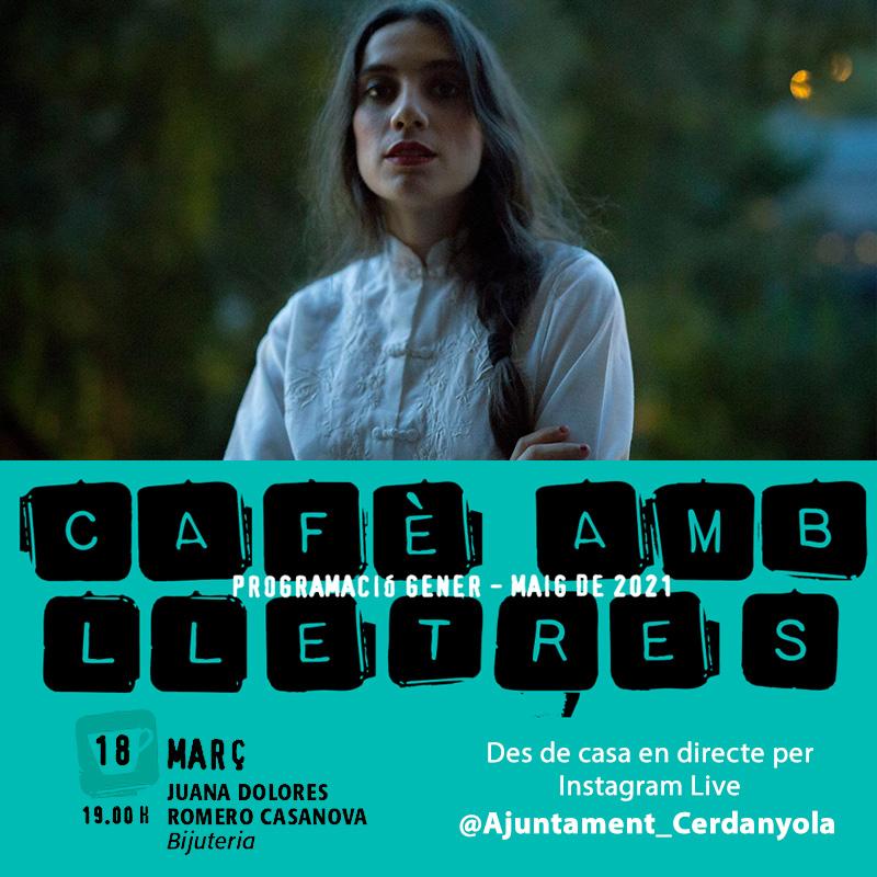 Cafè amb lletres març