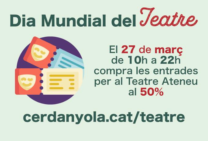 Imatge Dia Mundial Teatre Cerdanyola 2021