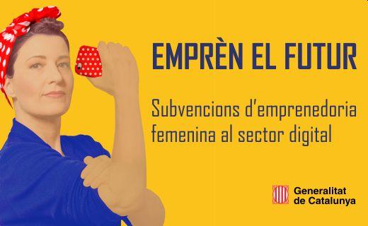 subvencions emprenedoria femenina sector digital