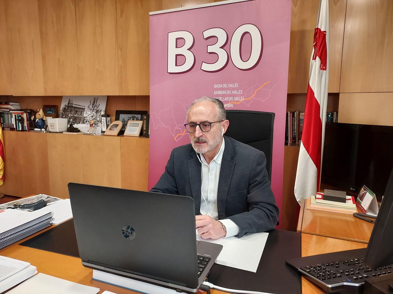 Josep Monràs ha estat reelegit com a president de l'Associació Àmbit B-30