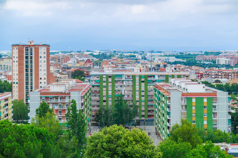 Panoràmica del barri de Les Fontetes