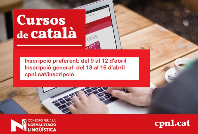 Matrícula cursos català
