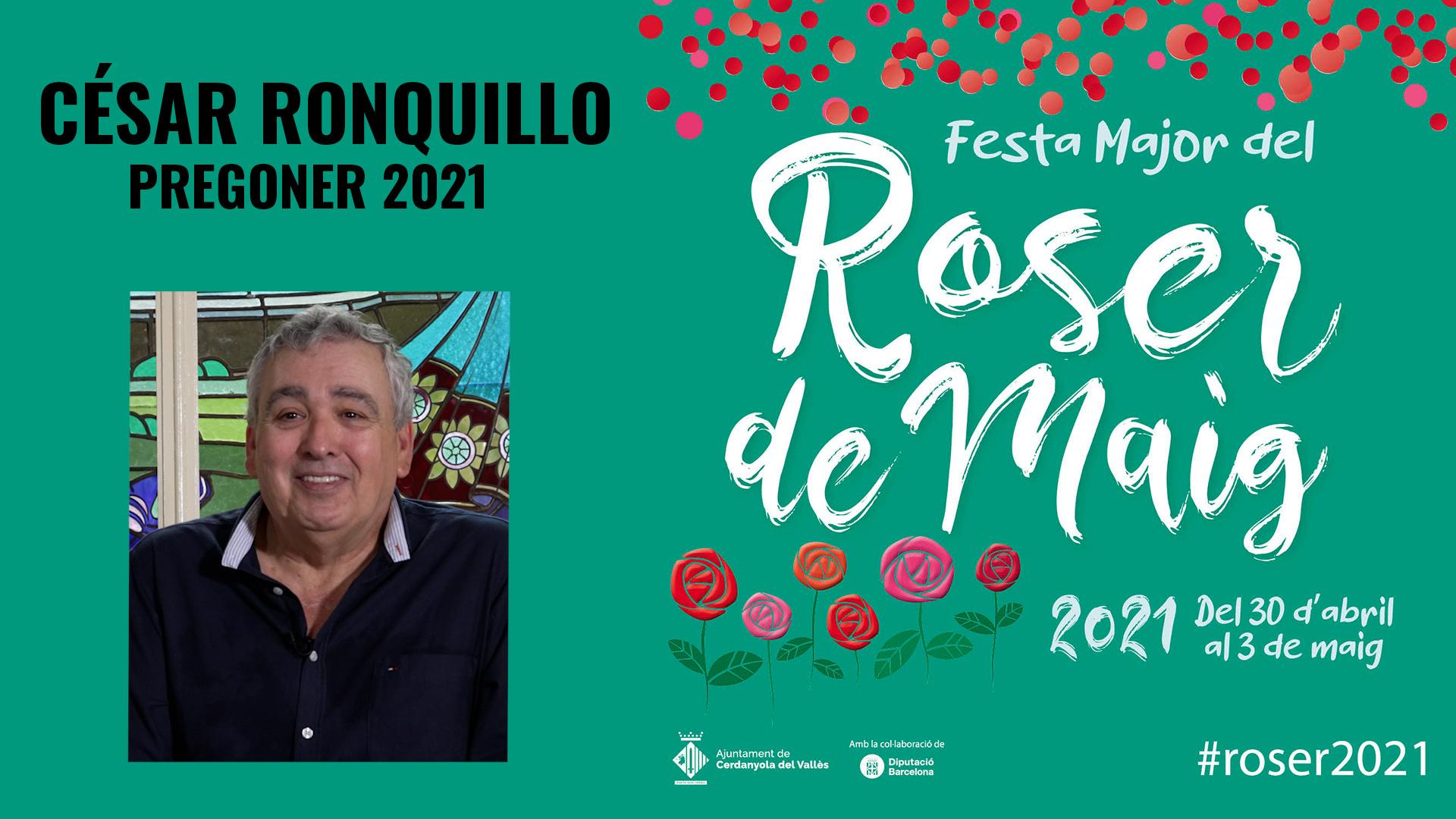 Pregó Festa Major Roser de Maig 2021