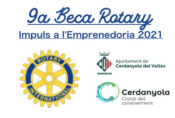 Imatge 9a Beca Rotary Impuls a l'Emprenedoria 2021
