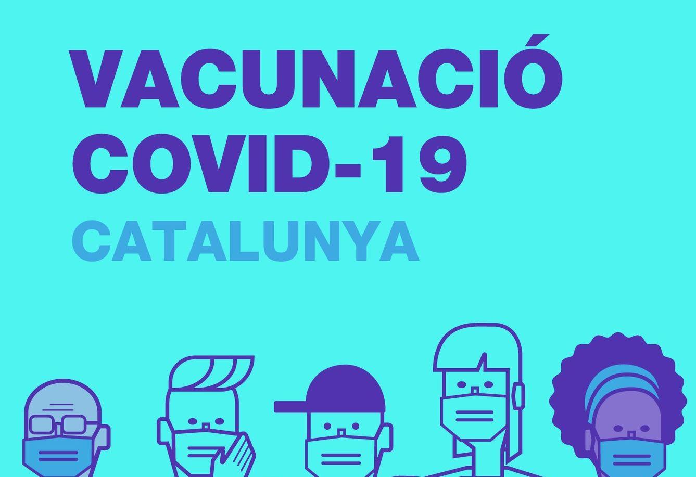 Imatge Vacunació COVID-19 Catalunya