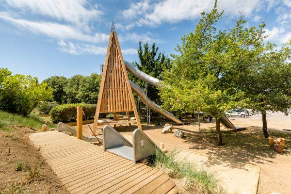 El parc s'ha obert avui al públic (foto: Núria Puentes)