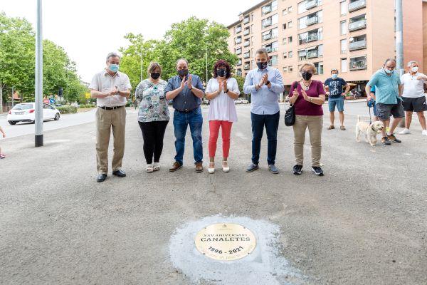 Antoni Morral, Pilar Fontanals, José Antonio Trigueros, Marian Navarro, Carlos Cordón i Cristina Real