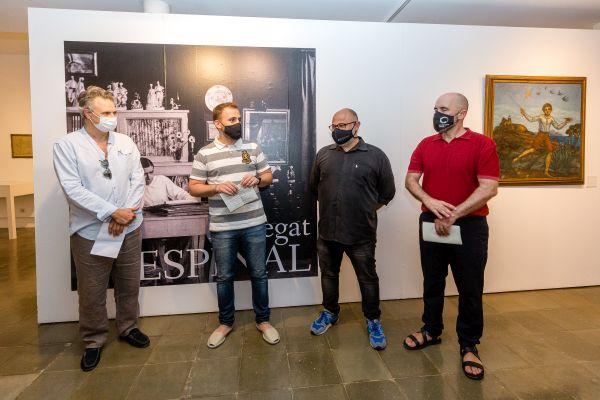D'esquerra a dreta: Oriol Boguñá, Carlos Cordón, Oscar Pons i Txema Romero