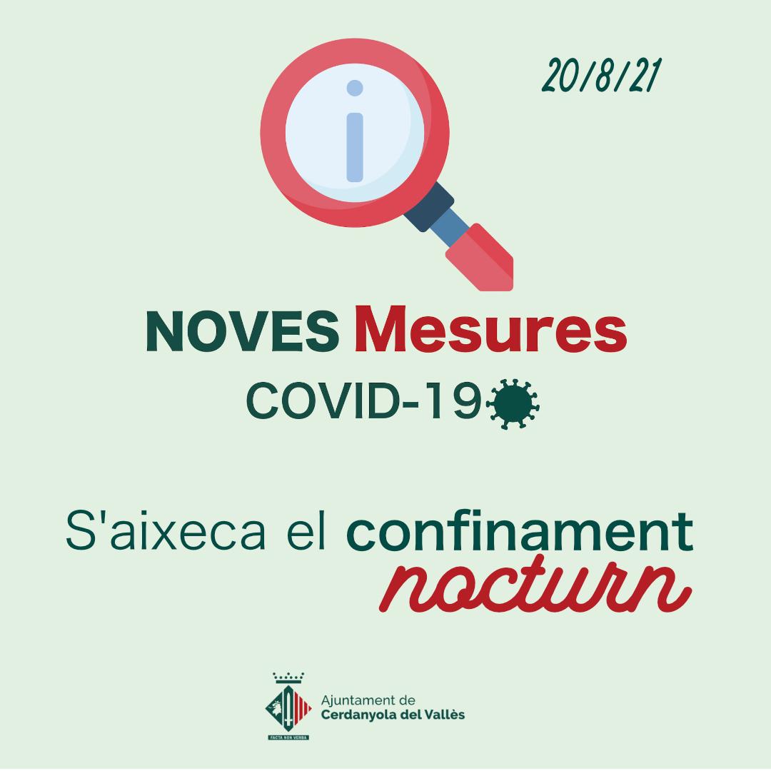 mesures covid 20 agost