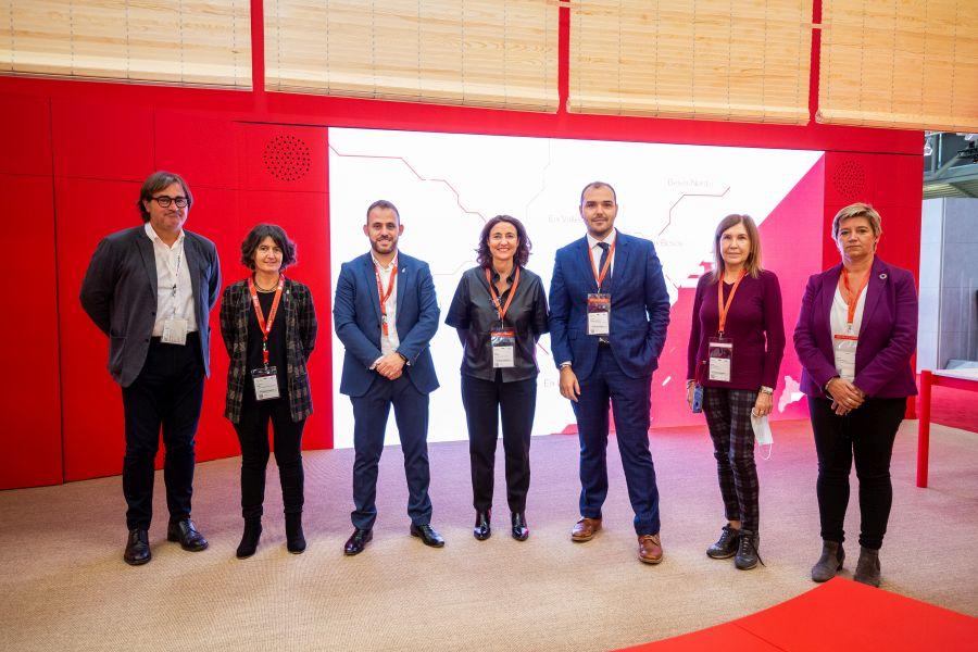 foto de grup delegació Barcelona Expo Real Munic