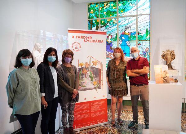 Soraya Tor, Inma Viera, Nerea Adell, Carme Arché i Txema Romero