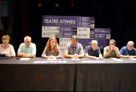 El teatre, la música i el cinema destaquen en la programació pel darrer trimestre de l'any del Teatre Ateneu