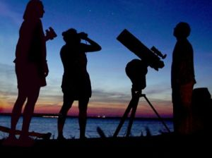Nit d'astronomia a Can Coll