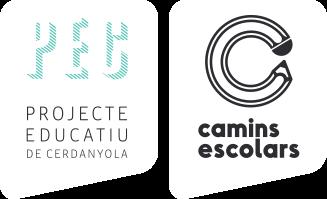 Logo PEC Camins escolars