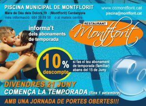 piscina de Montflorit