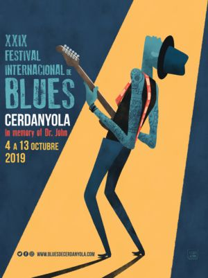 Cartell Festival de Blues