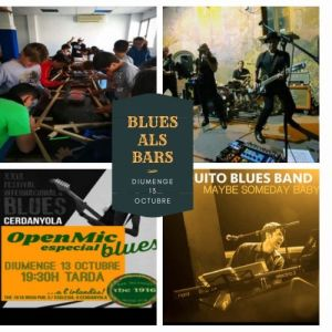 Blues als Bars