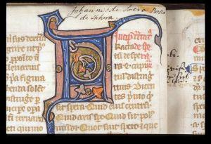imatge d'un manuscrit medieval