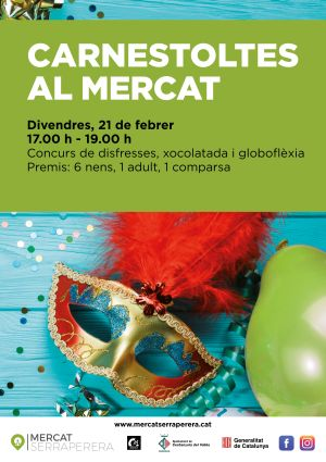 cartell Carnaval Mercat Serraperera