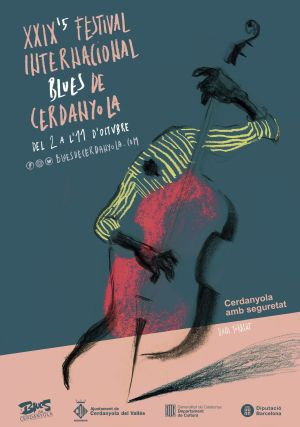 cartell del Festival de Blues