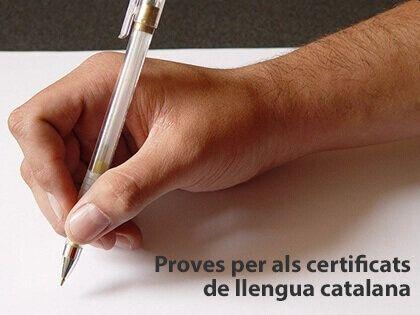 proves certificats català
