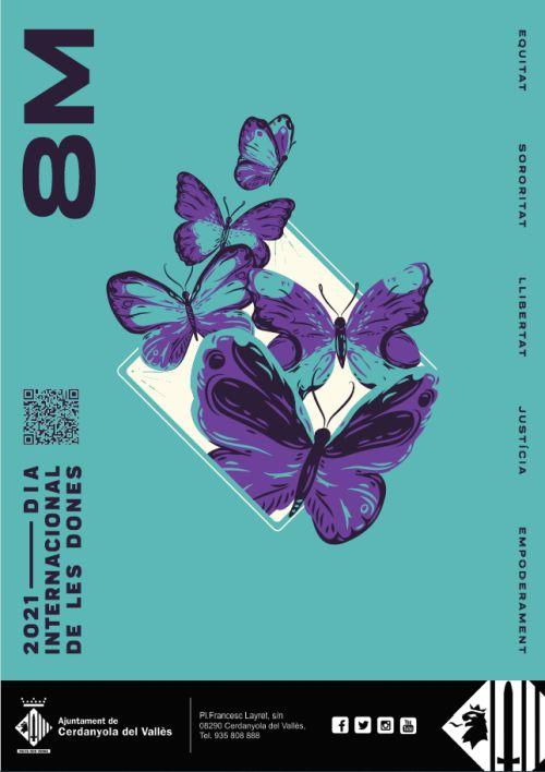 cartell Dia Internacional de les dones 2021