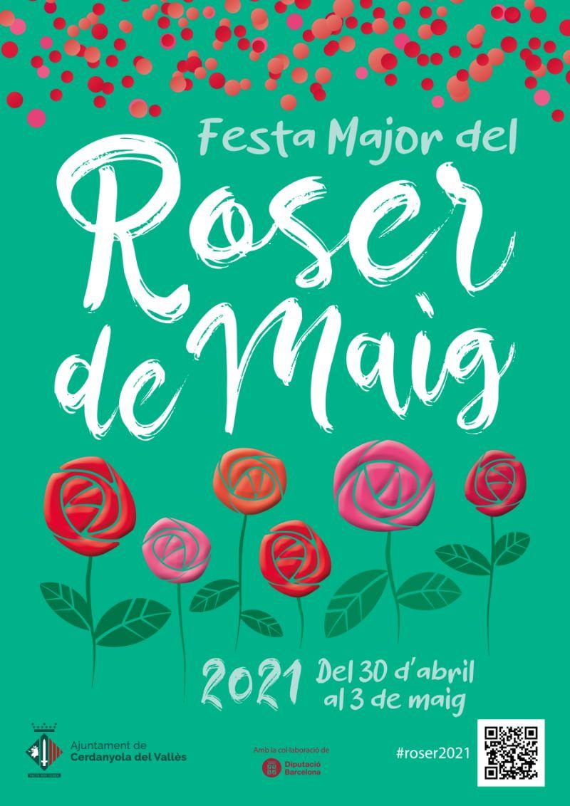 Cartell Festa Major del Roser de maig 2021