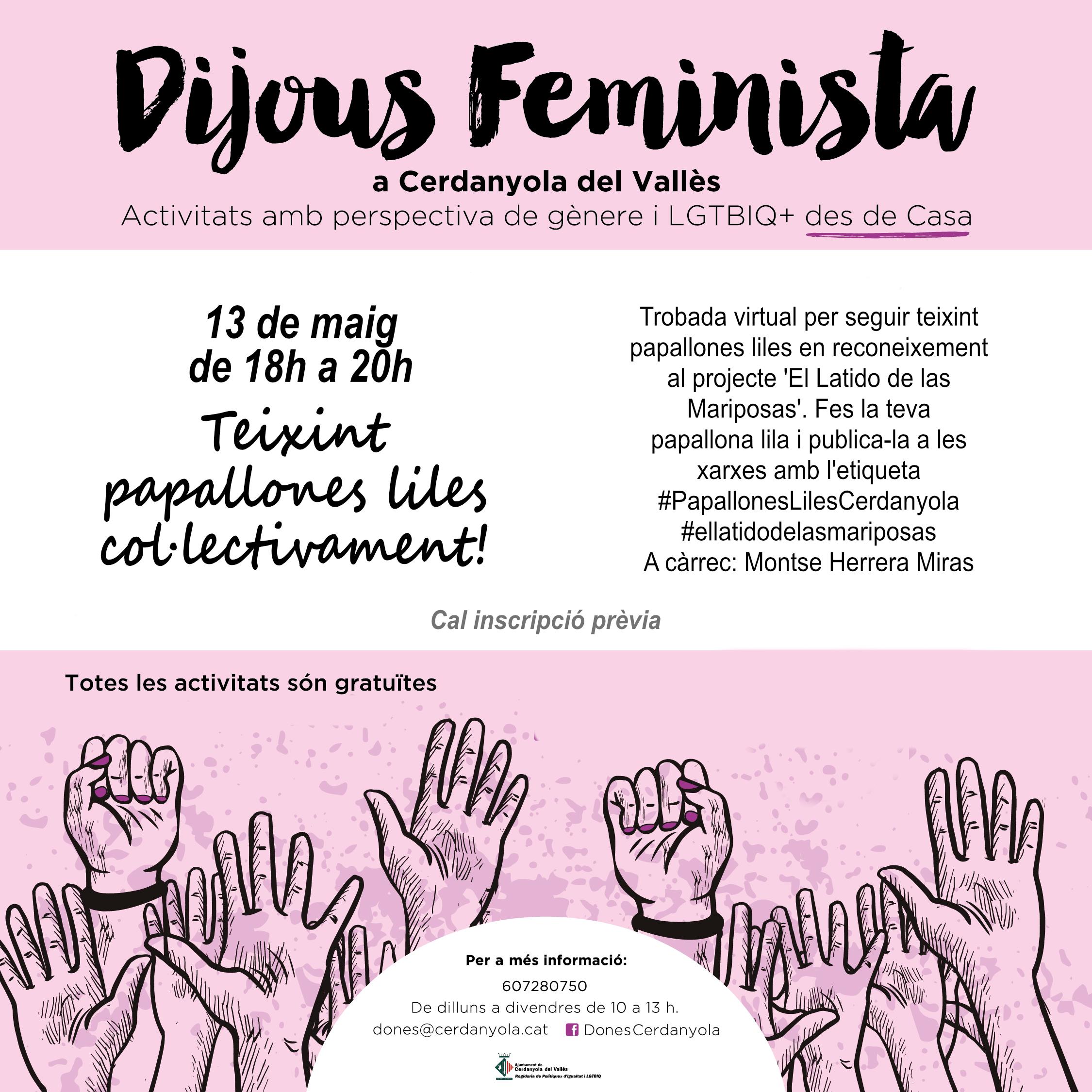 Imatge Dijous Feminista maig