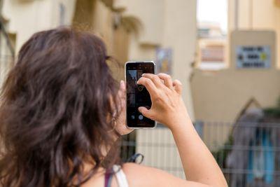 Passejades per fer fotos amb el mòbil