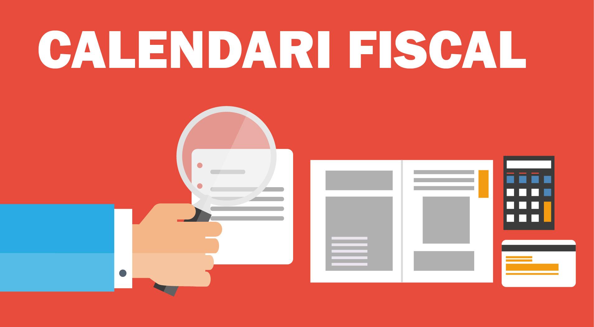 Al·legoria calendari fiscal