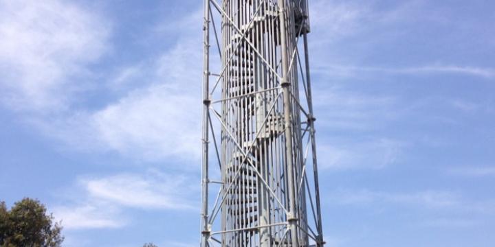 Torre de vigilància al Puig de la Guària (Foto: MCATA)