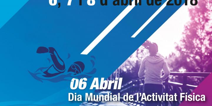 Cartell de la Setmana d'Activitat Física