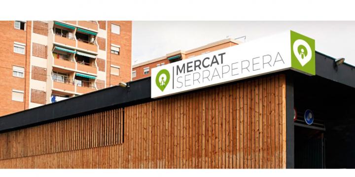 Captura de pantalla del web del Mercat Serraperera